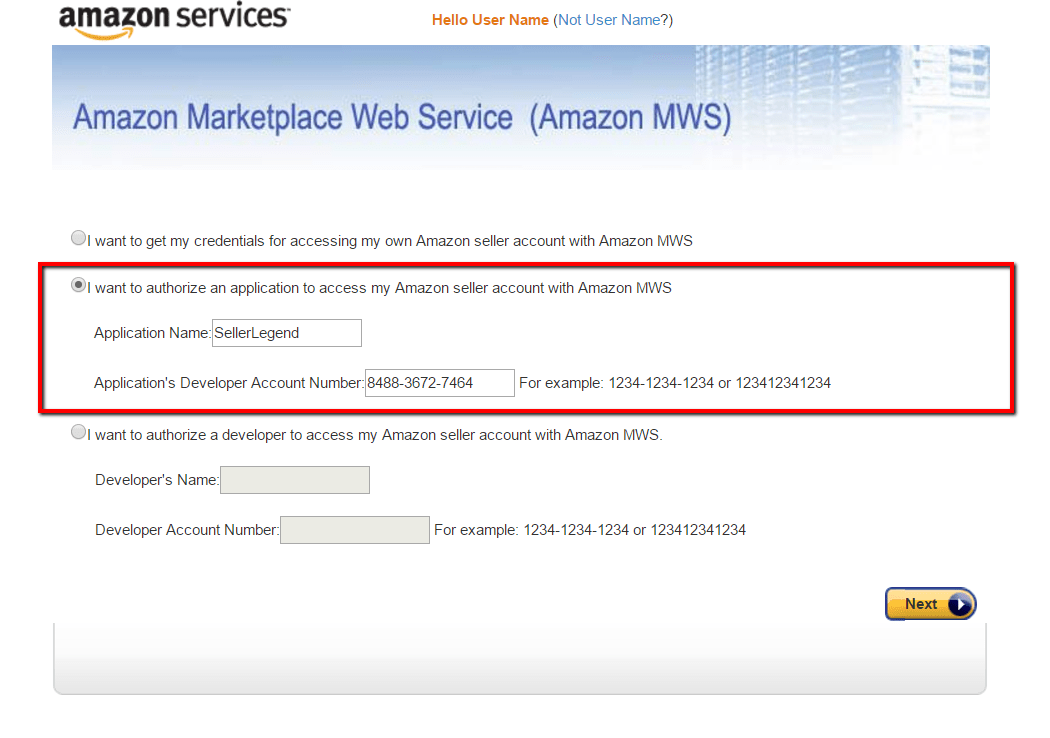 How Do I Get My Amazon MWS Keys ? | SellerLegend Knowledge Base